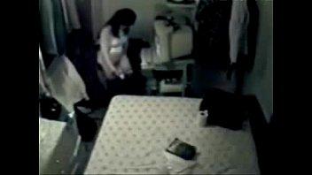 My mum home alone masturbating at PC. Hidden cam