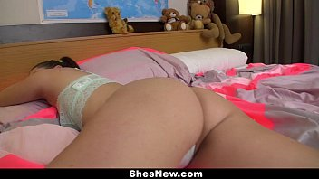 ShesNew - Spanish Teen Gets Pink Pussy Drilled