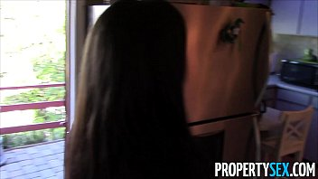 propertysex - steamy ebony real estate agent tricked.