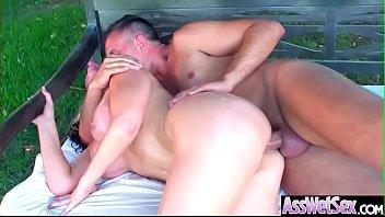 Deep Hard Anal Sex With Big Round Butt Girl (Alena Croft) video-05