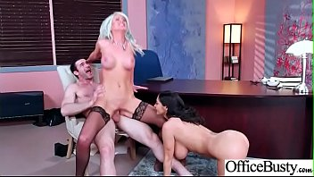 Hardcore Sex With Sluty Big Round Boobs Office Hot Girl (Ava Addams &amp_ Riley Jenner) clip-05
