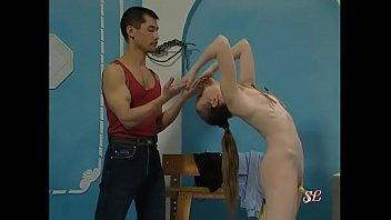 Petite balerina teen gets a taste of bdsm. Bdsmmasters.com