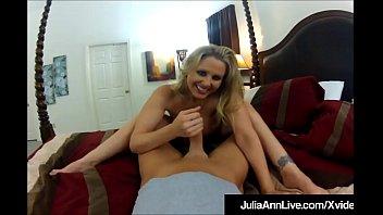 Mega Milf Julia Ann Rammed From Behind &amp_ Cum Popped On Ass!