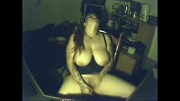 My pervert busty mom having fun at PC. Hidden cam