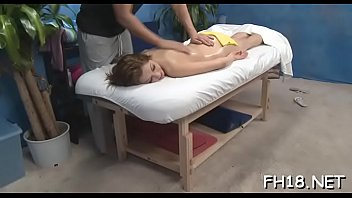 Erotic undressed massage