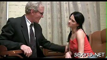 lascivious elder tutor is seducing babe039_s.