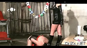 domme carmen rivera ties up her serf indeed rigid