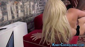 blond wifey railing huge ebony rock-hard-on