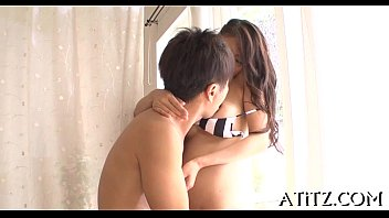Sexy tits japanese'_s nasty toying