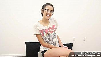 nerdy teenie shocked in her first-ever porn amp_ sobs