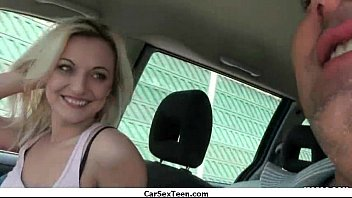 Car sex teen hitchhiker hardcore pounded 12