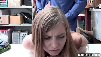 caught shoplyfter ava parker got smashed.