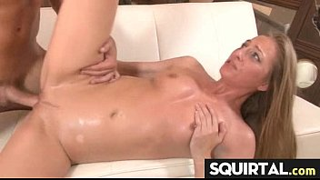 Teen Latina Squirts while getting fucked 24