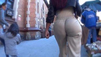 Candid Big Booty Latina Ass