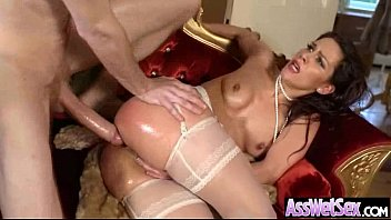 Round Sexy Big Ass Girl Love Hard Anal Sex On Cam clip-27