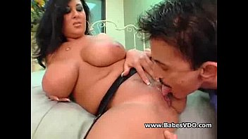 Big Titted Black Haired Latina Milf Riding big cock