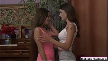 Ariella learns how to lick pussy