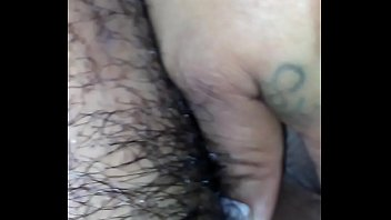 my white bbw ex cums on my brown latino cock. Her asshole too small though!!