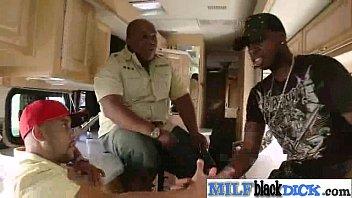 Interracial Sex Between Long Hard Black Dick Stud And Milf (kitty caulfield) video-24