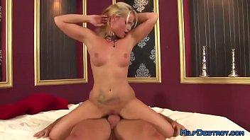 19 - Dirty Blonde Milf Loves Hard Anal