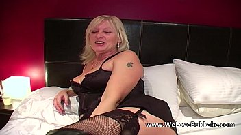 old mature wifey does mass ejaculation
