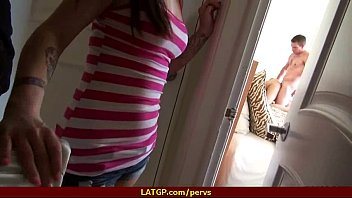 Horny young girlfriend is caught on camera fucking her boyfriend 15