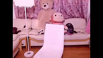 the korea crimson-hot doll display web cam in.