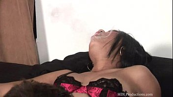 Kyanna Lee - Smoking Fetish at Dragginladies