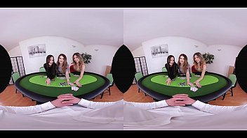 trio beutiful poker cootchies and you