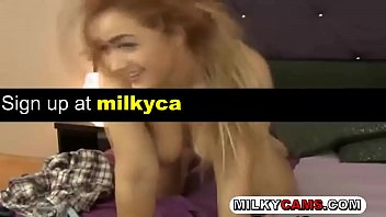 cute camgirl fingers her pussy on cam -- watch more videos on milkycams.com