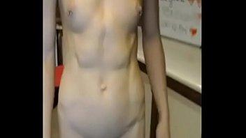 hot redhead stepsister in high heels teasing on webcam p2