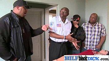 Interracial Sex Between Long Hard Black Dick Stud And Milf (honey white) video-17