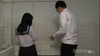 virginal school damsel gives oral jobs and mitt.