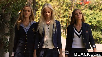 blacked preppy chick 3 way get.