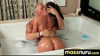 Sexy Girl Nuru Massage and Fuck 24