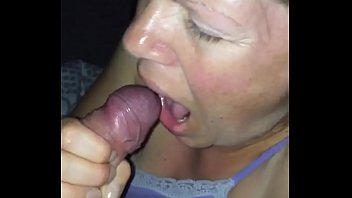 british milf blowjob. Swallows