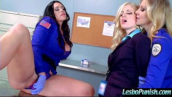 Cute Lesbo Get Punish With Dildos By Mean Lesbian (alison&amp_charlotte&amp_julia) video-09