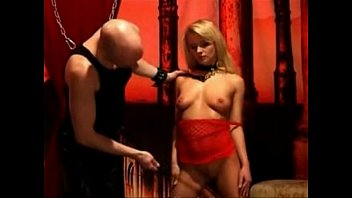 torrid blondie servant stunner flogged by.