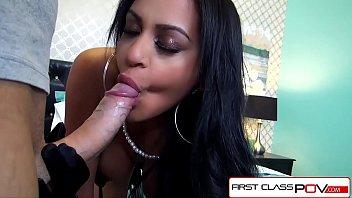 FirstClassPOV - Kimberly Kendall sucking a big dick, big boobs &amp_ big booty