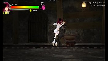 Guilty Hell action ryona hentai game xxx . Airi teen girl blowjob guard in mines