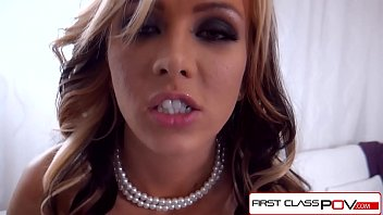 FirstClassPOV - Jeanie Marie take a monster cock in her throat, big boobs