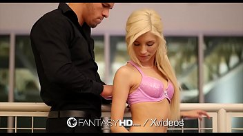 fantasyhd pulverize and cascading inner ejaculation with strapped.