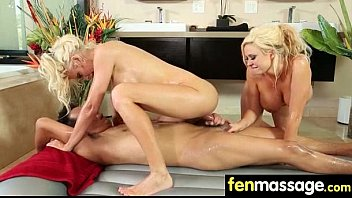 Fantasy Massage Babe gets a House Call 8
