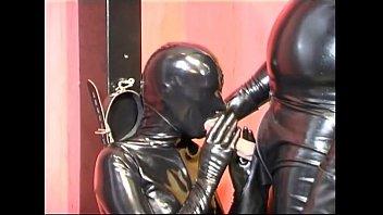 Hot slave girl sucking a master'_s dong