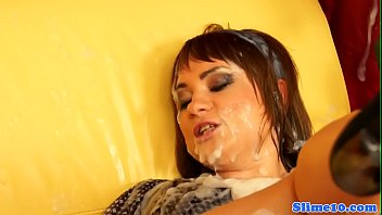 Classy babe dildo fucked and cumdrenched