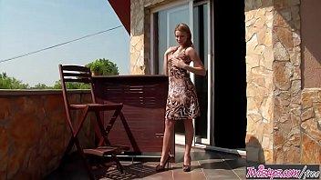 Twistys - (Bernice) starring at Badness On The Balcony
