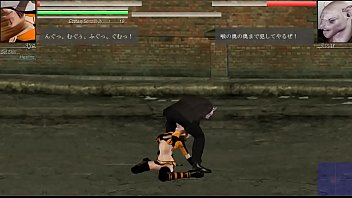 The Hounds of the Blade xxx hentai game . Aya teen girl in sex with big bat man