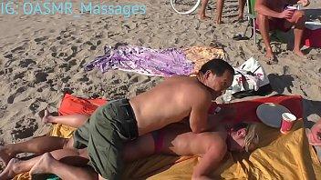 beach cupcakes figure and feet rubdown.
