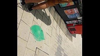 Hot ass in public