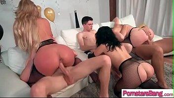 Monster Cock Stud Bang A Hot Pornstar (Chanel Preston &amp_ Kristina Rose &amp_ Phoenix Marie) clip-